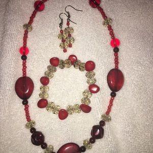 Jewelry - Handmade Jasper Stone jewelry